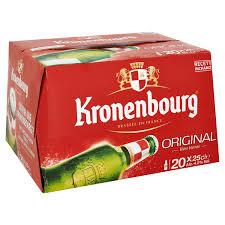Pack de Kronenbourg (20 x 25 cl)