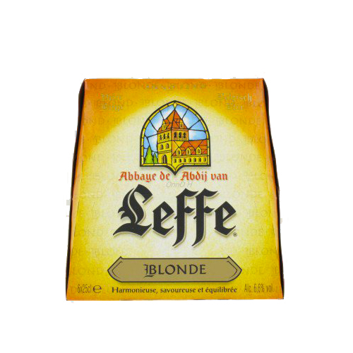 Pack de Leffe blonde (10 x 25 cl)
