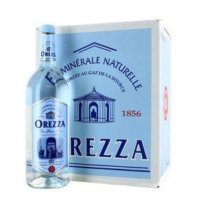 Pack d'Orezza, bouteille en verre (6 x 1 L)
