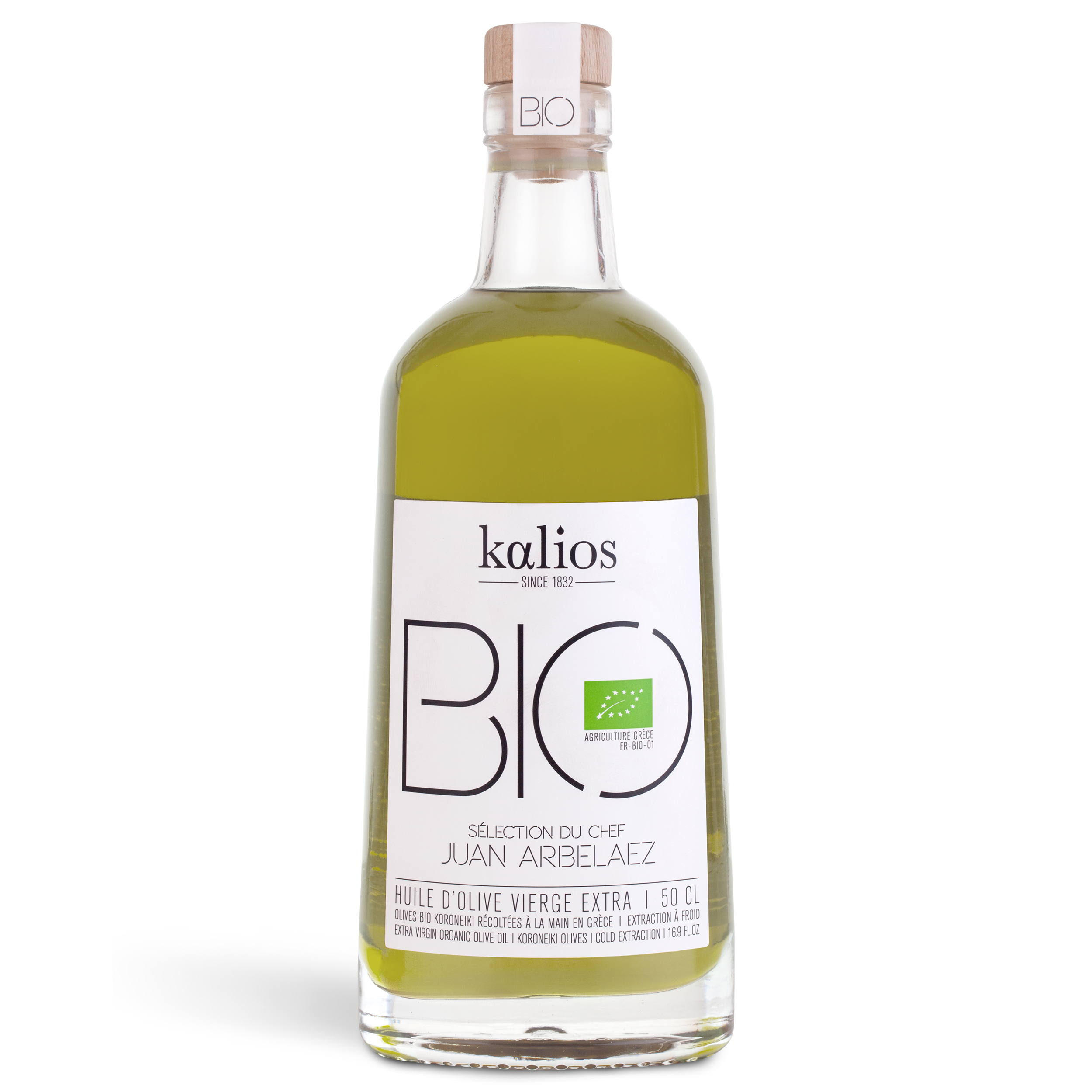 Huile d'olive BIO Chef Juan Arbelaez, Kalios (500 ml)