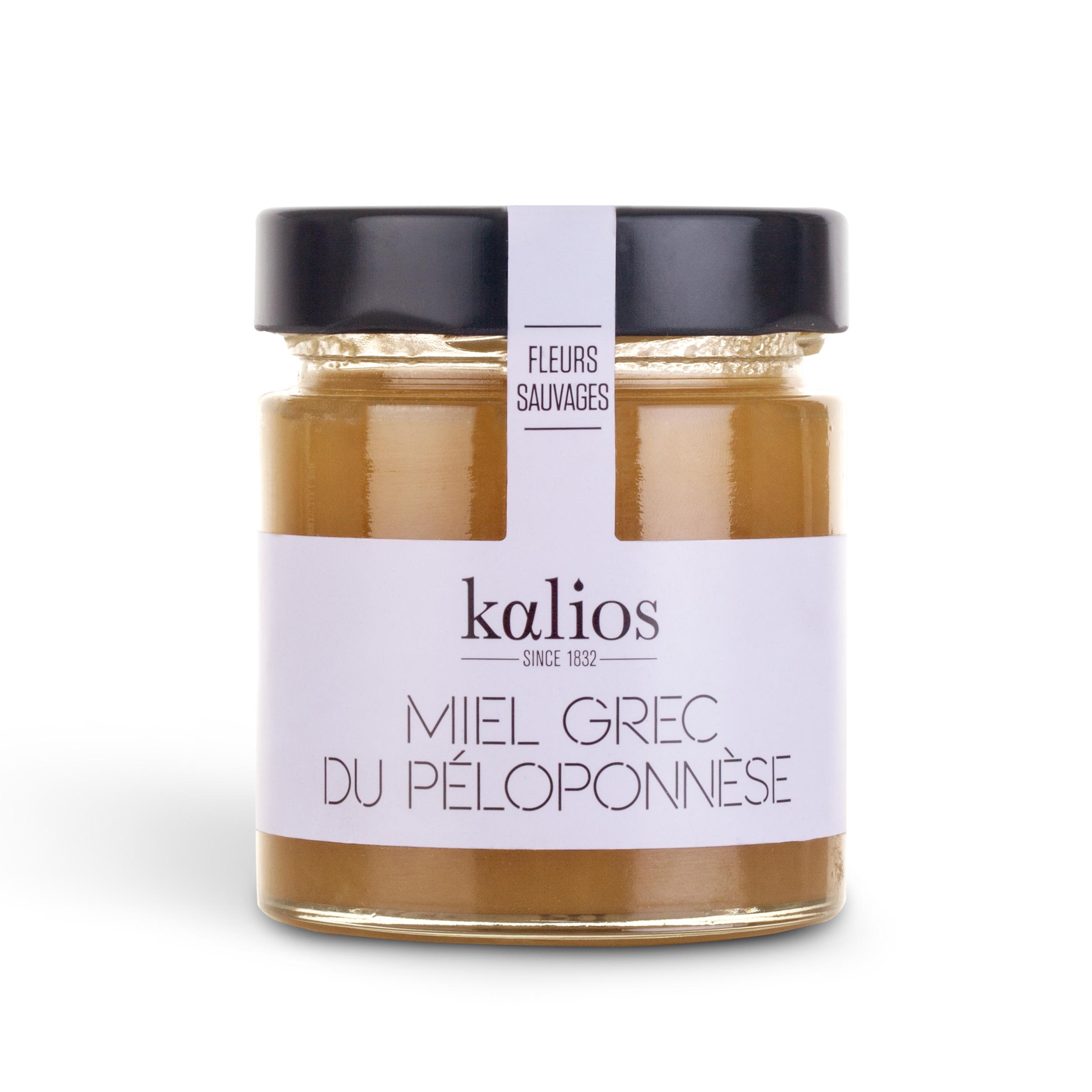 Miel grec de fleurs sauvages, Kalios (250 g)