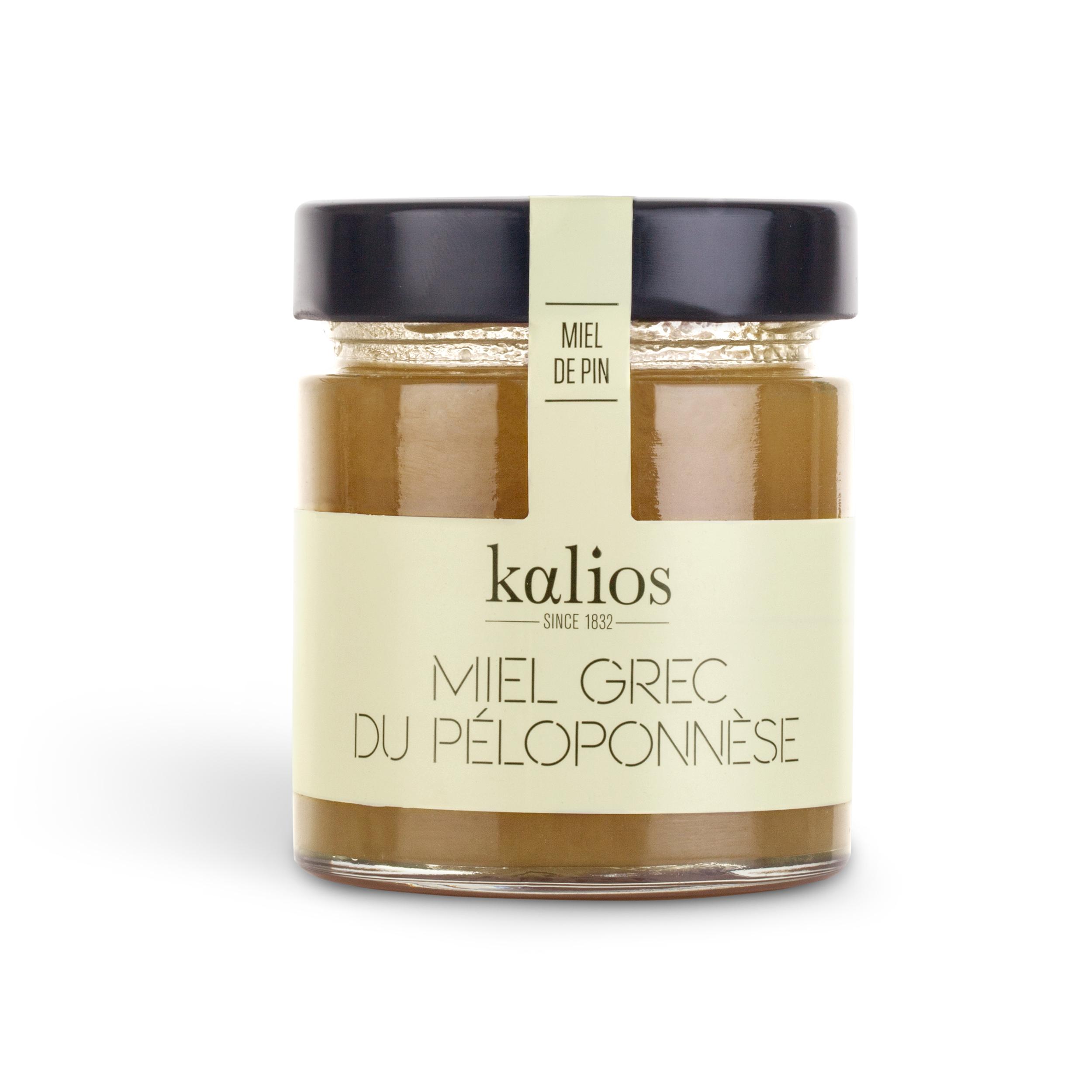 Miel grec de pin, Kalios (250 g)