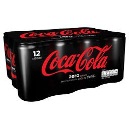 Pack de Coca-Cola Zero (8 x 15 cl)