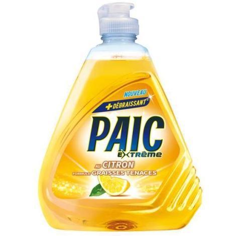 Liquide vaisselle Extrême Citron, Paic (500 ml)