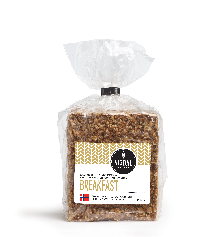 Pain craquant Norvégien - Breakfast, Sigdal Bakeri (190 g)