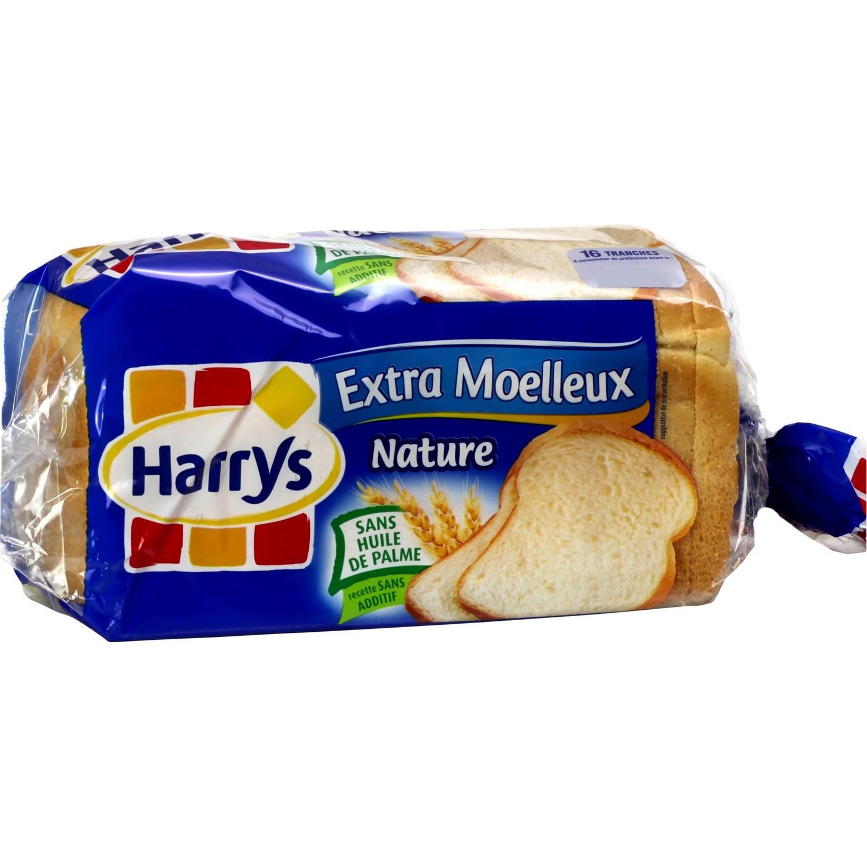 Pain de mie extra-moelleux nature, Harry's (280 g)