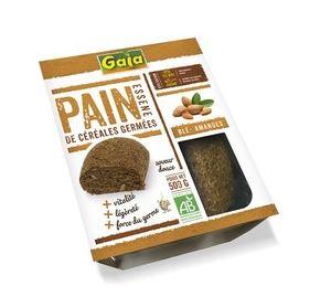 Pain essene blé amandes BIO, Gaia (500 g)
