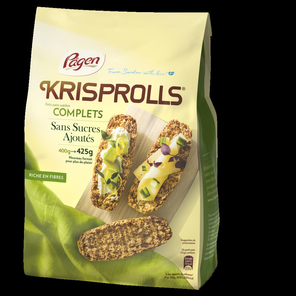 Krisprolls nature sans sucre (425 g)