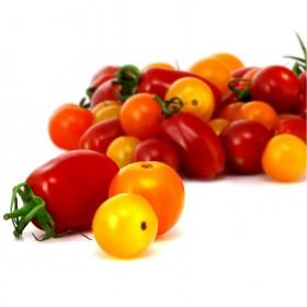 Barquette de tomates cerises panachées (250 g)