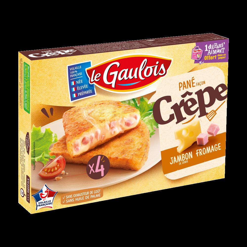 Pané façon crêpe, Le Gaulois (x 4, 200 g)
