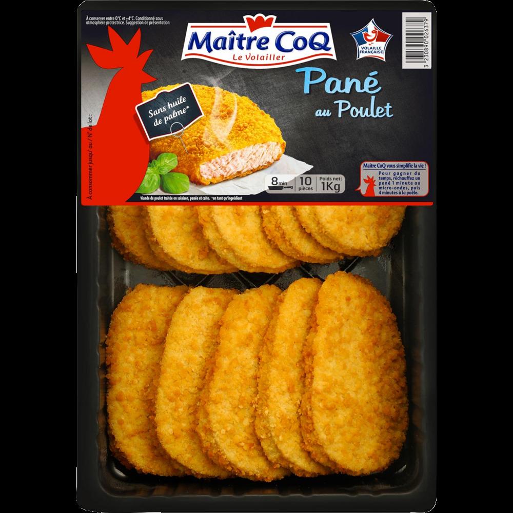 Panés au poulet, Maître Coq (1 kg)