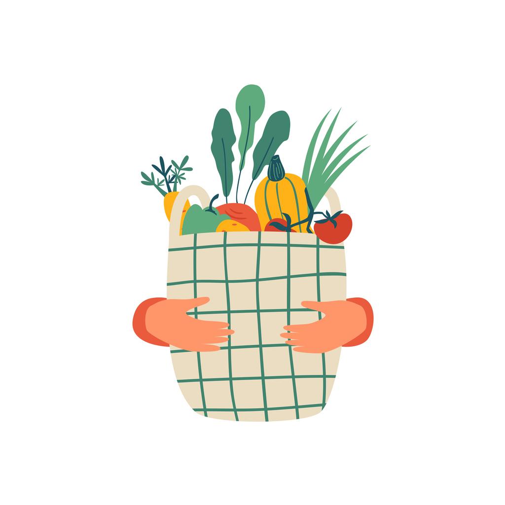 Panier mixte : Fruits & Légumes du jour !