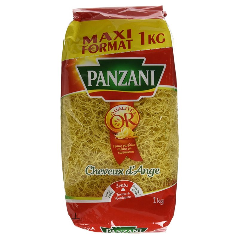 Vermicelle Cheveux d'ange, Panzani (1 kg)