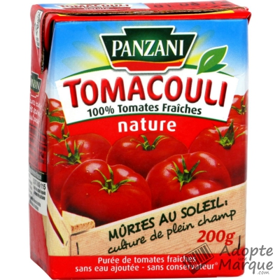Tomacouli nature, Panzani (200 g)