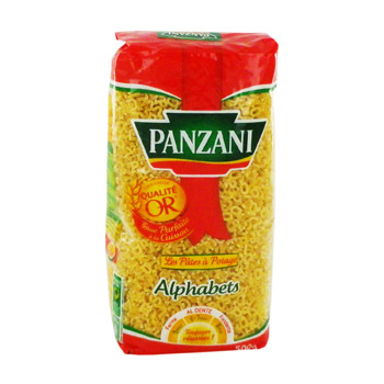 Pâtes Alphabets, Panzani (500 g)
