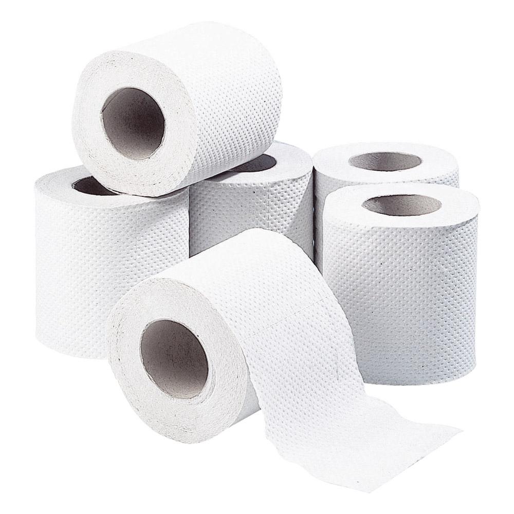 Papier toilette compact 2 plis Ecoprix (x 6 = 12 rouleaux)