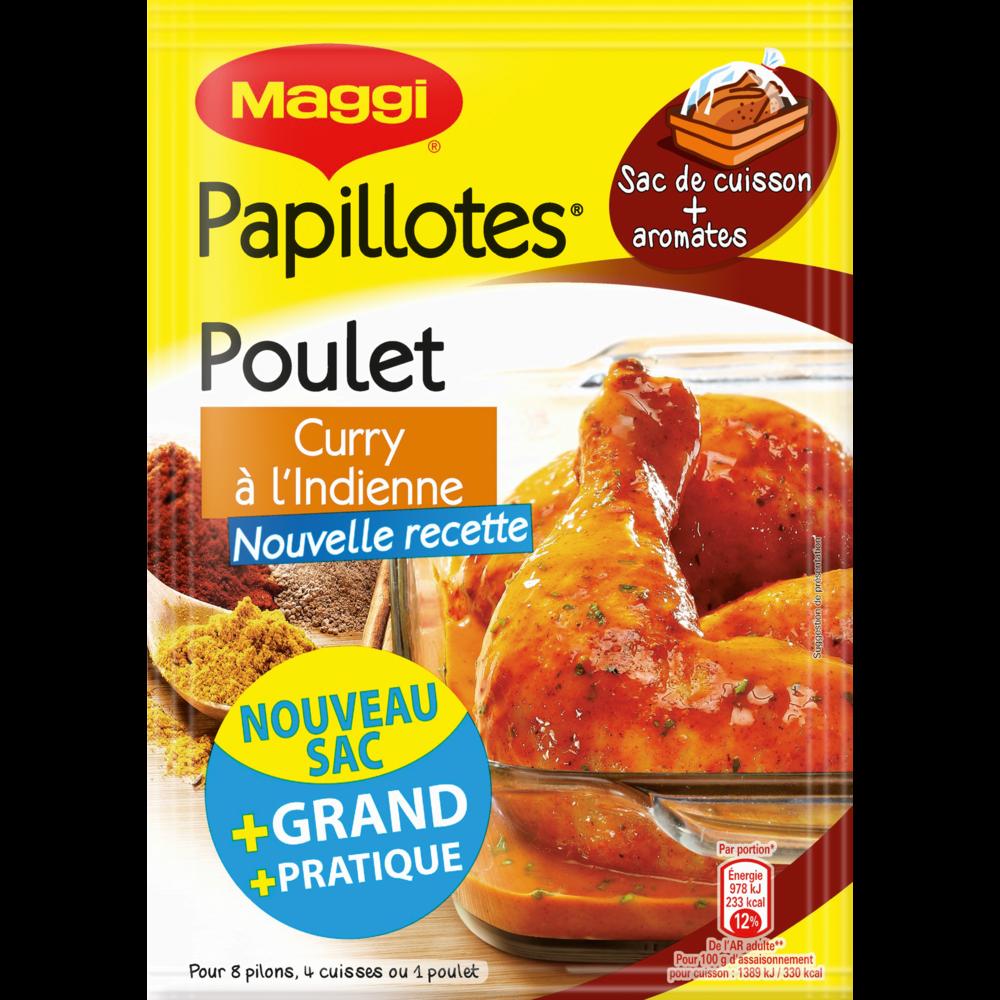 Assaisonnement pour papillottes de poulet au curry, Maggi (30 g)