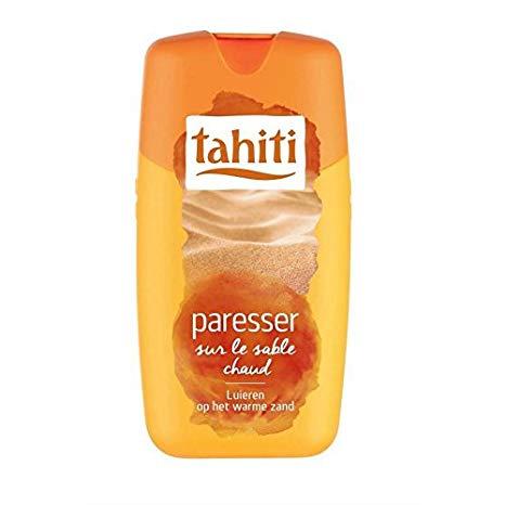 Gel douche Vibration Paresser sur le sable chaud, Tahiti douche (250 ml)