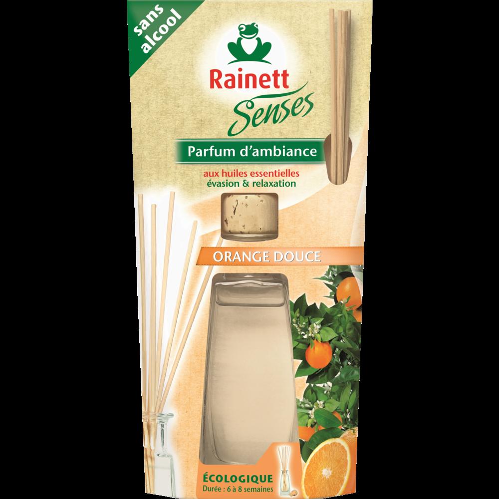 Parfum d'ambiance senses orange douce, Rainette (90 ml)