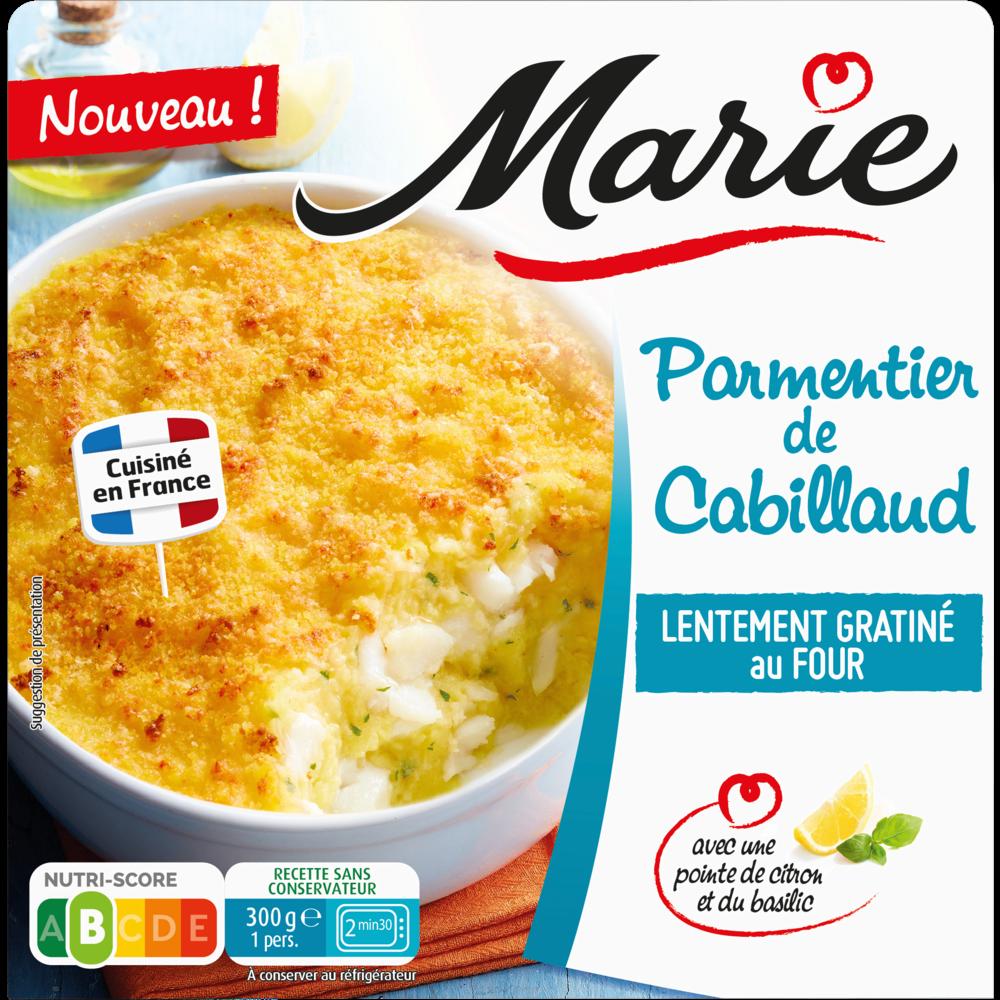 Parmentier de cabillaud, Marie (300 g)