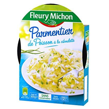 Parmentier poisson cibouette, Fleury Michon (300 g)