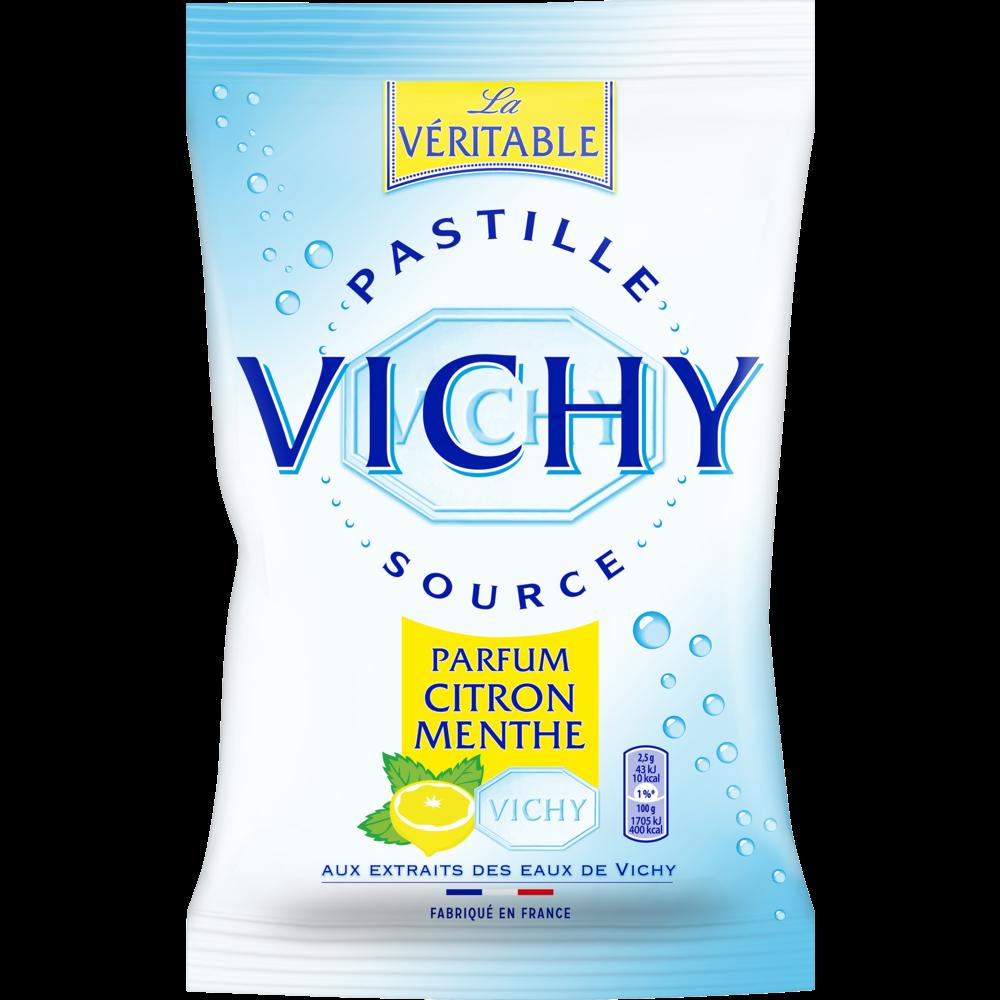 Pastilles Vichy citron menthe (230 g)