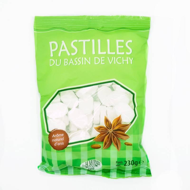 Pastilles Vichy à l'anis (230 g)