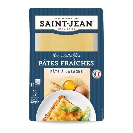 Plaques de lasagne fraiches, Saint Jean (300 g)