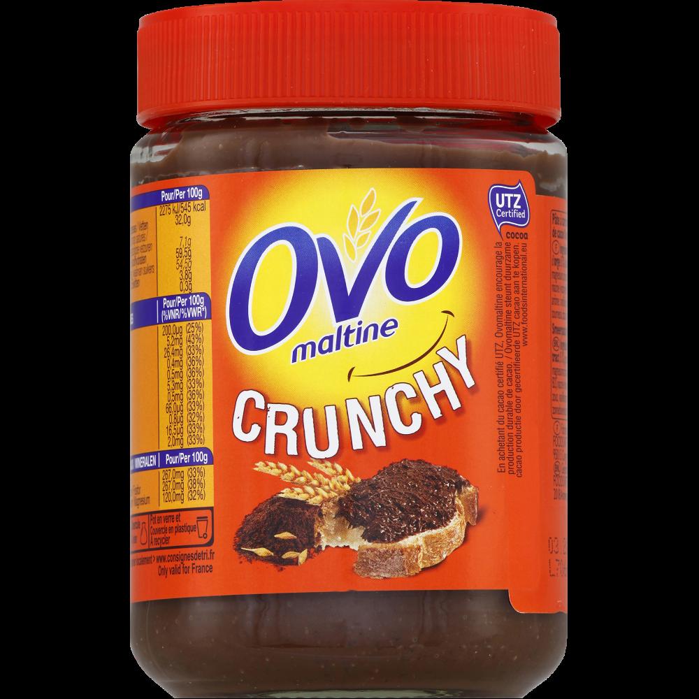 Pâte à tartiner crunchy avec pépites croustillantes, Ovomaltine (360 g)