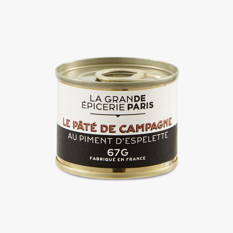 Pâté de campagne au piment d'Espelette, La Grande Epicerie de Paris (67 g)