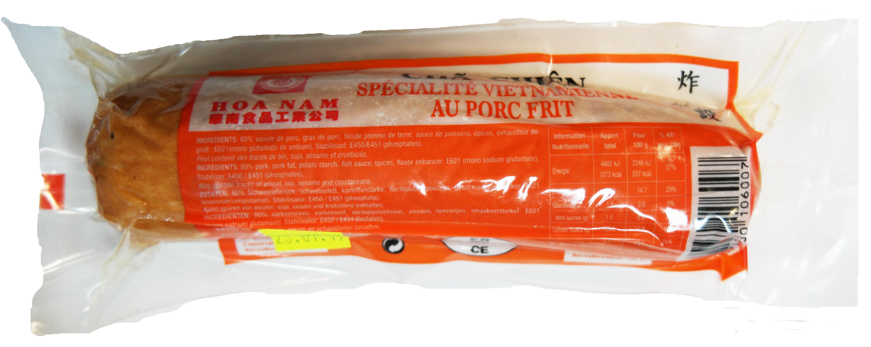 Pâté pur porc frit Cha Chien, Hoanam (200 g)