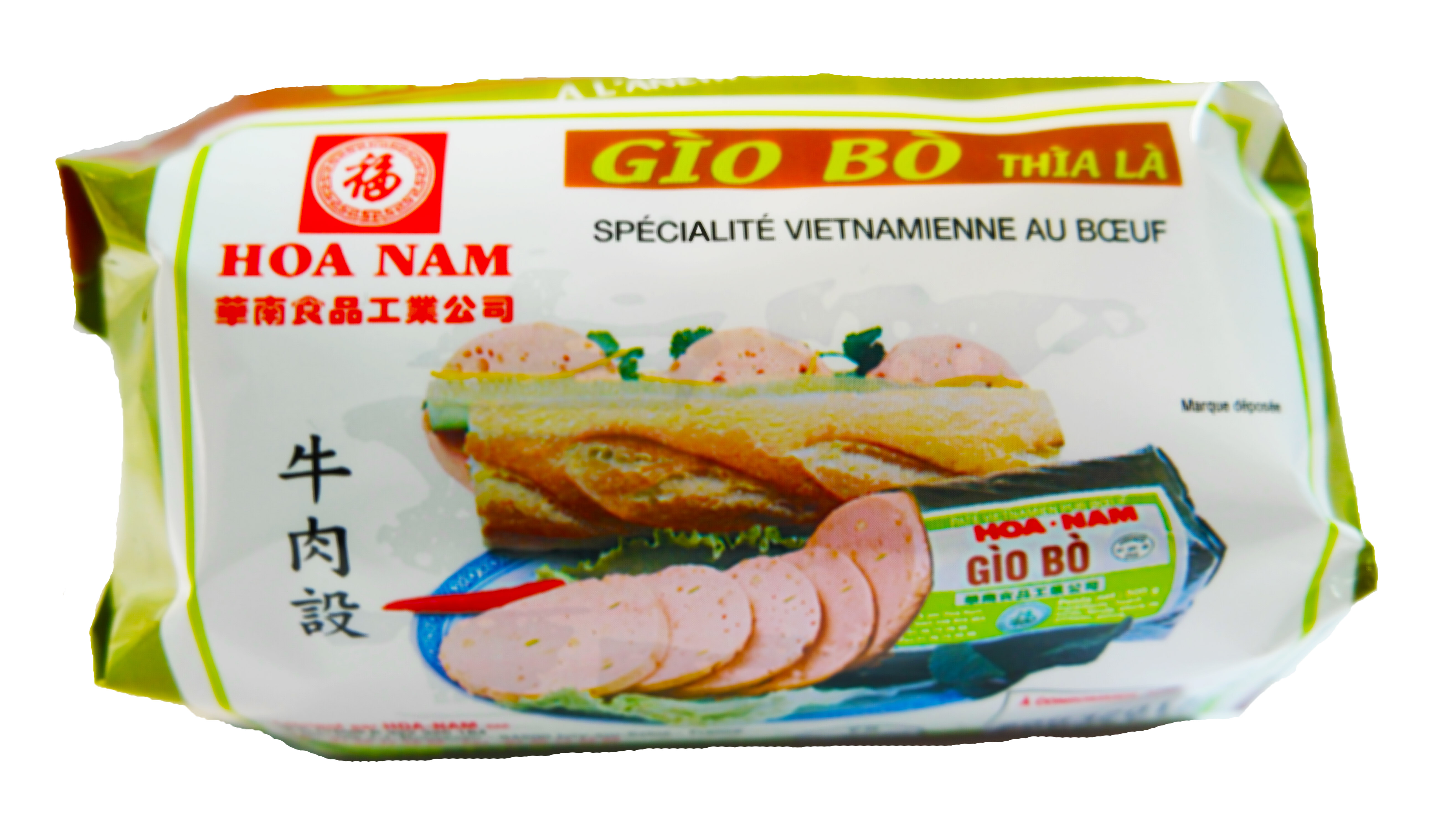 Pâté vietnamien au boeuf Gio Bo Thia La, Hoanam (500 g)