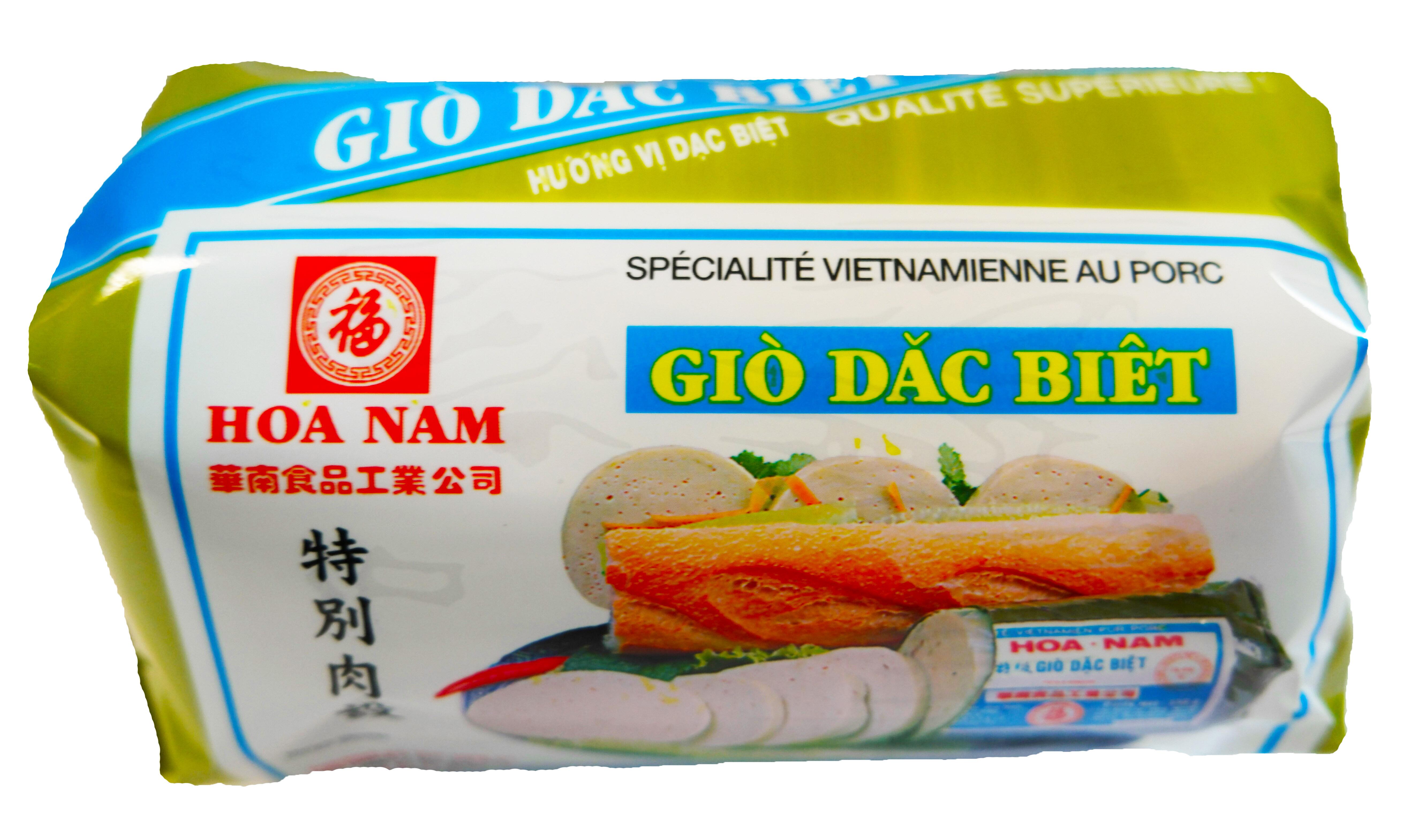 Pâté vietnamien au porc Gio Dac Biet, Hoanam (500 g)