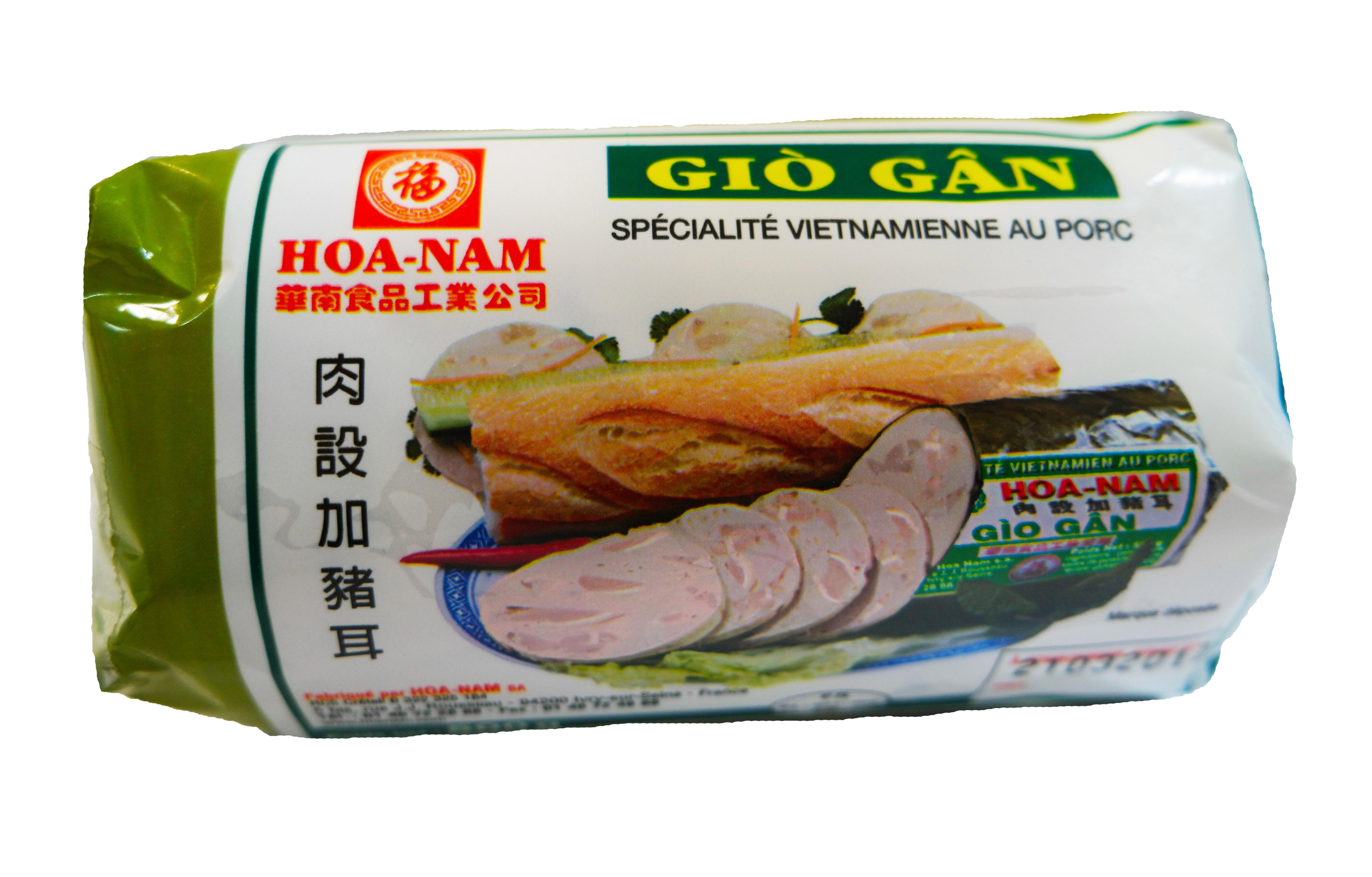 Pâté vietnamien au porc Gio Gan, Hoanam (500 g)