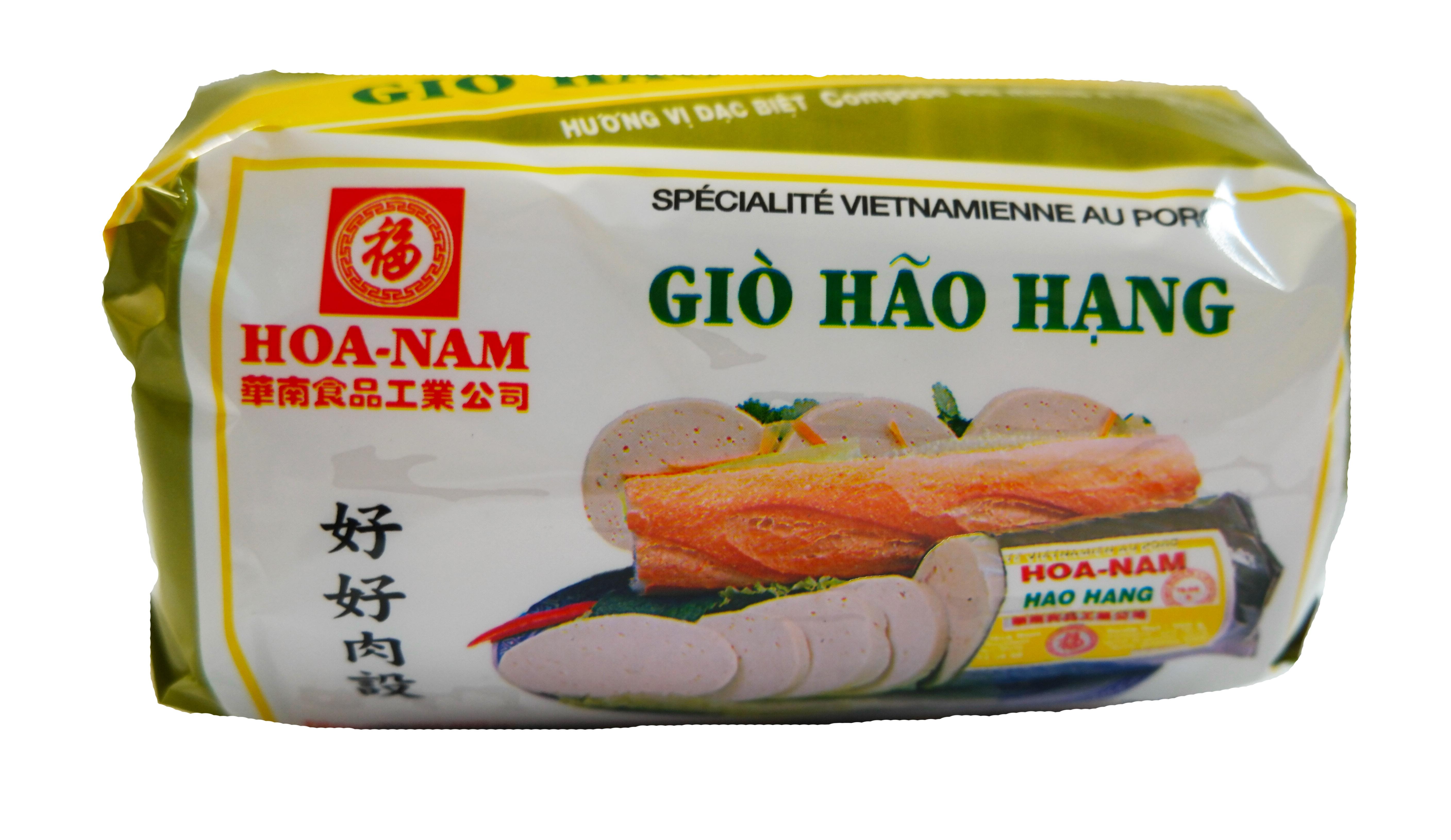 Pâté vietnamien au porc Gio Hao Hang, Hoanam (500 g)
