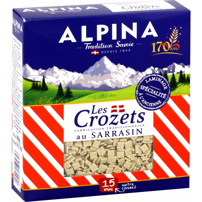 Crozet sarrasin Alpina (400 g)