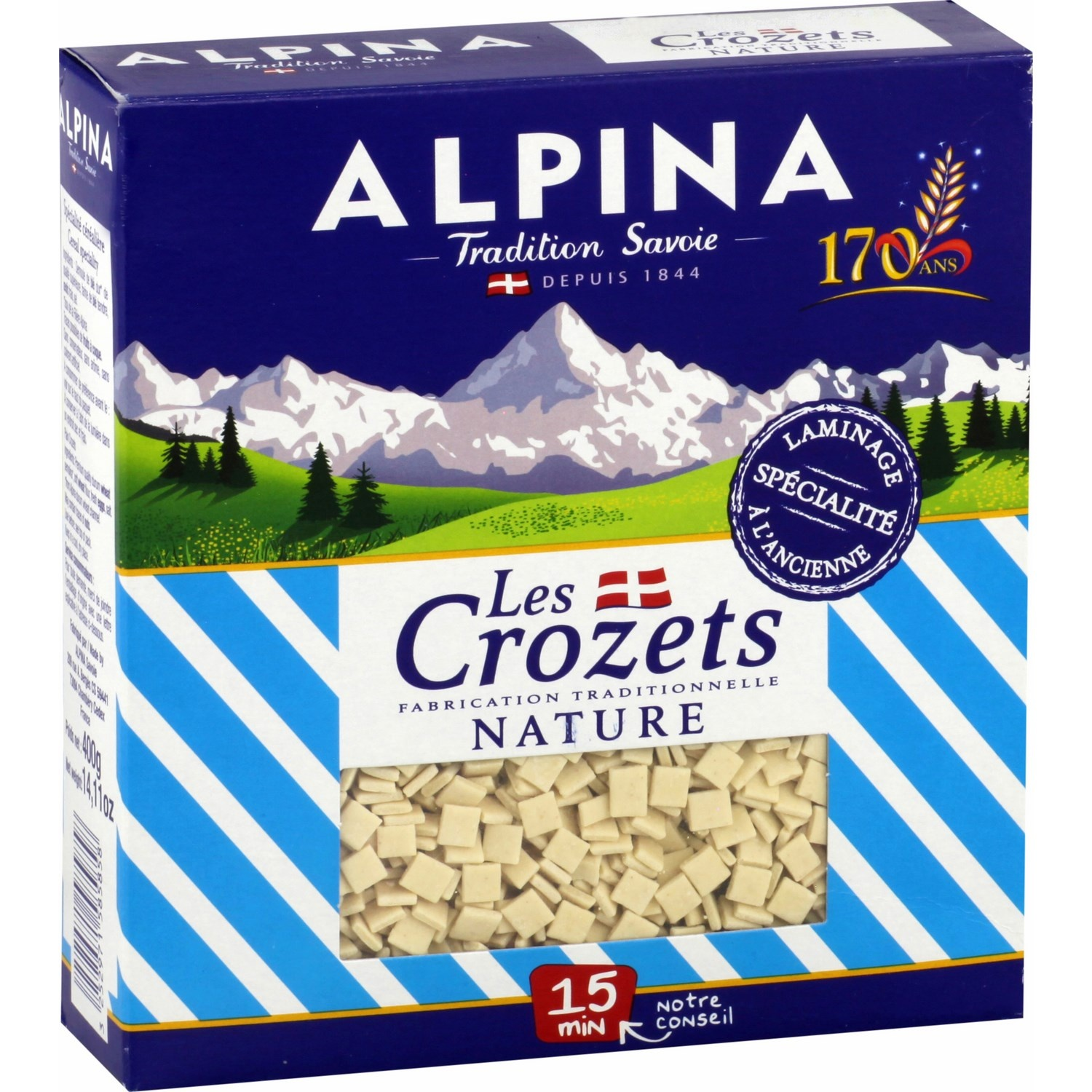 Crozet nature Alpina (400 g)