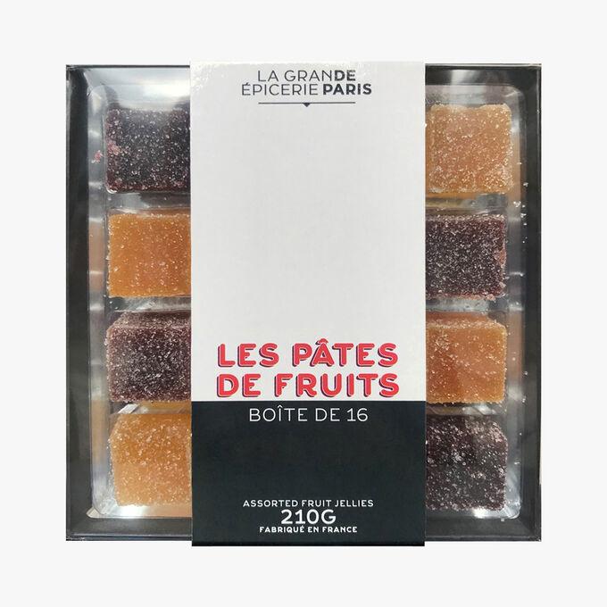Pâtes de fruits en étui, La Grande Epicerie de Paris (x 16, 210 g)