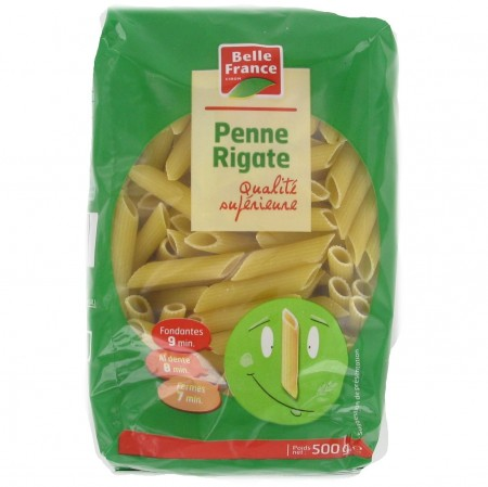 Penne Rigate, Belle France (500 g)