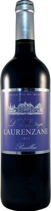 Pauillac L'Heritage Laurenzane 2013 (75 cl)