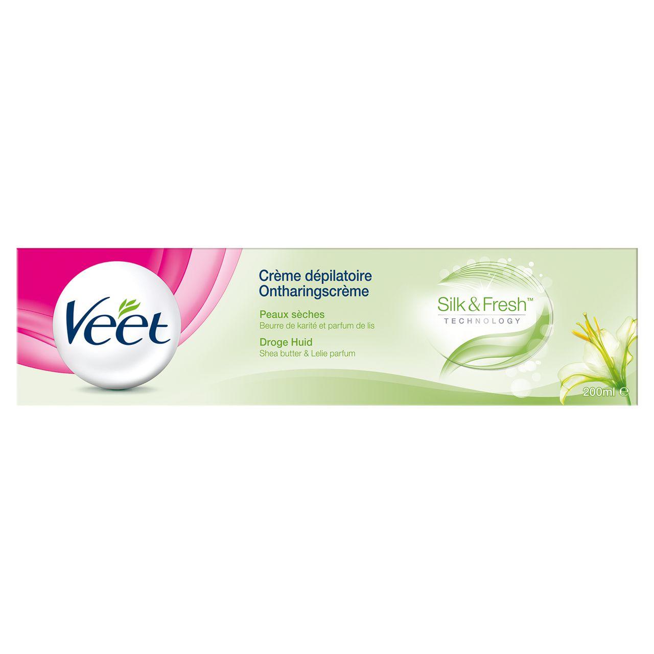 Crème dépilatoire Peaux Sèches, Veet (200 ml)