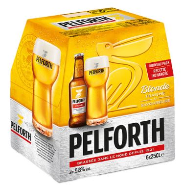 Pack de Pelforth, 5.8° (6 x 25 cl)