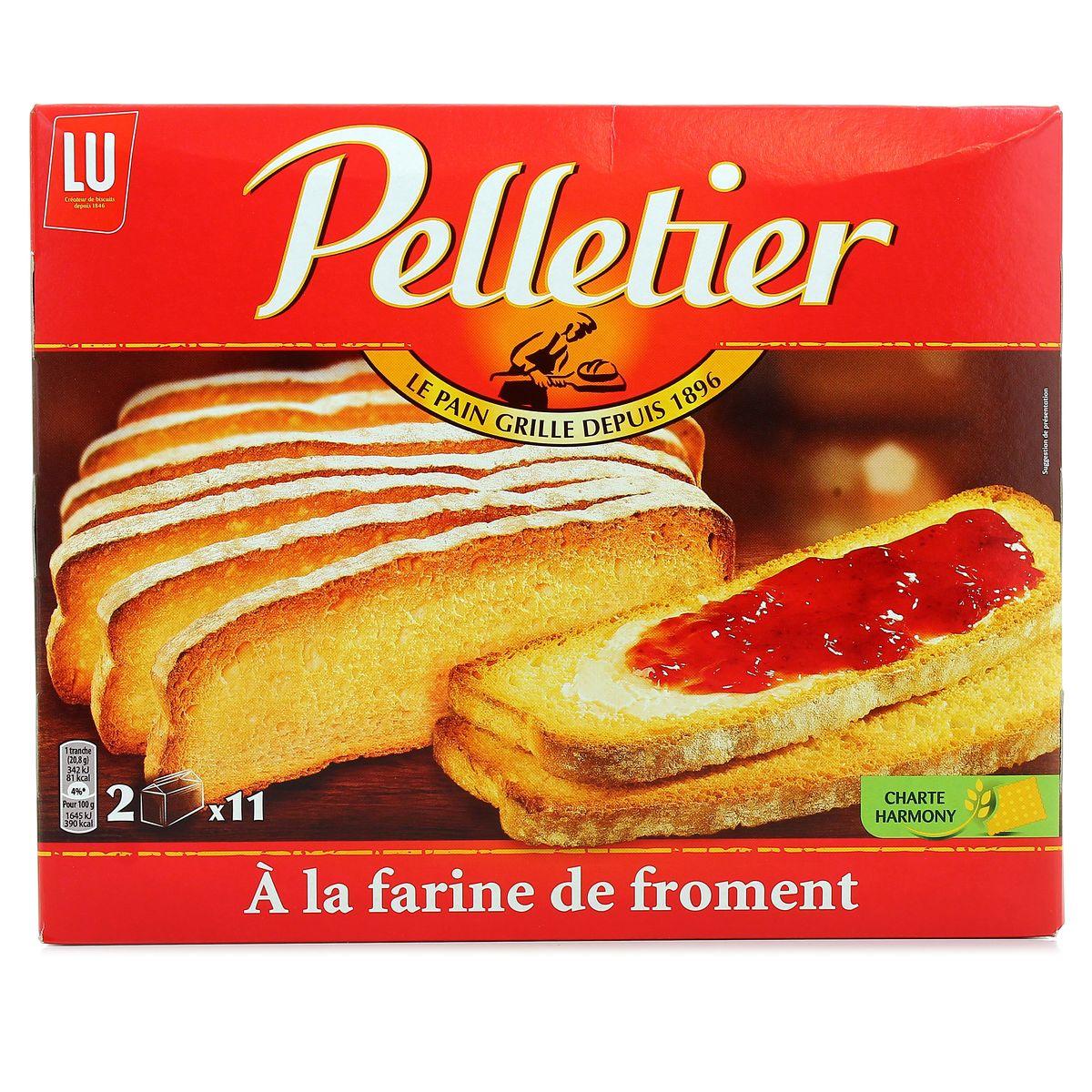 Pain grillé au froment, Pelletier (455 g)