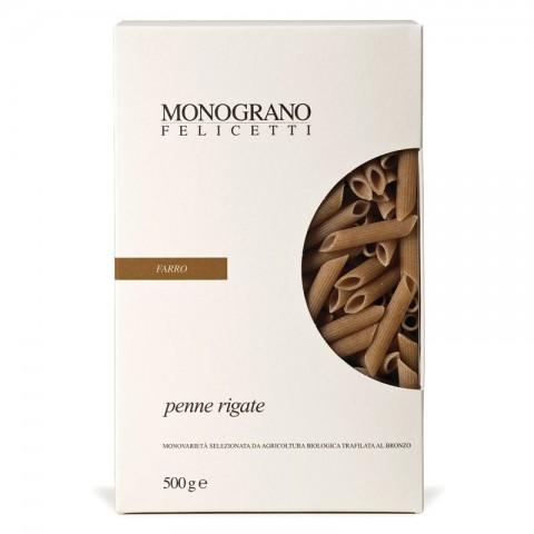 Penne Rigate BIO - Farro, Felicetti (500 g)