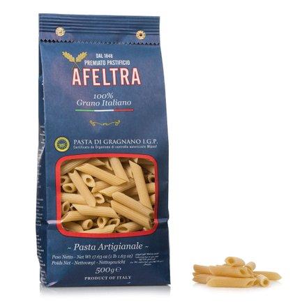 Penne rigate di gragnano pâtes artisanales IGP, Afeltra (500 g)