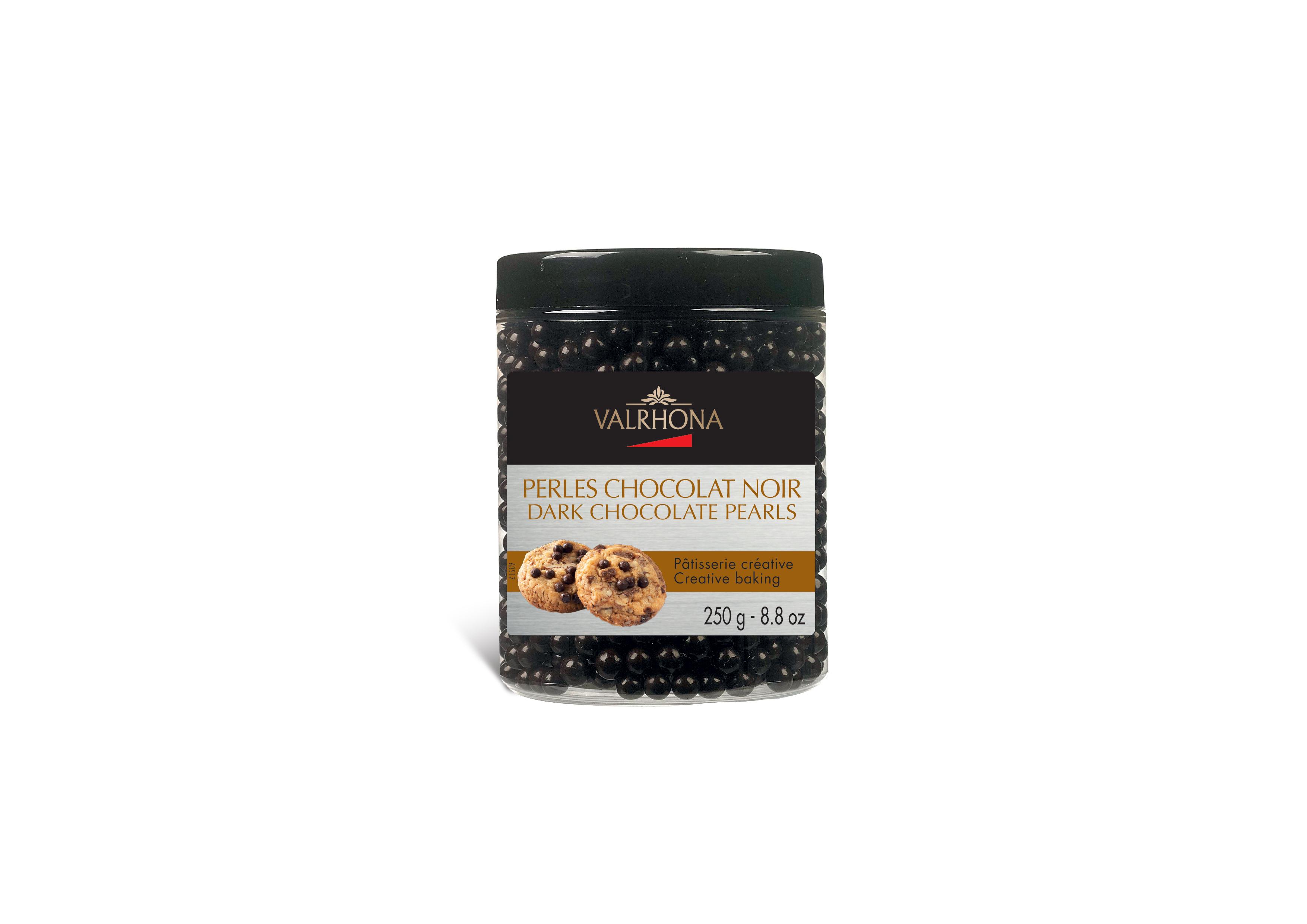 Perles de chocolat noir, Valrhona (250 g)