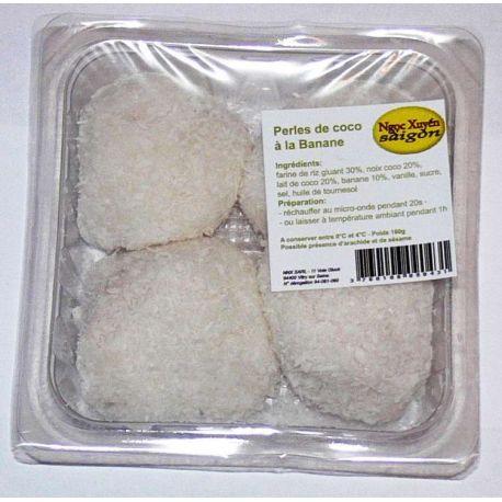 Perles de coco à la banane (x 4, 160 g)