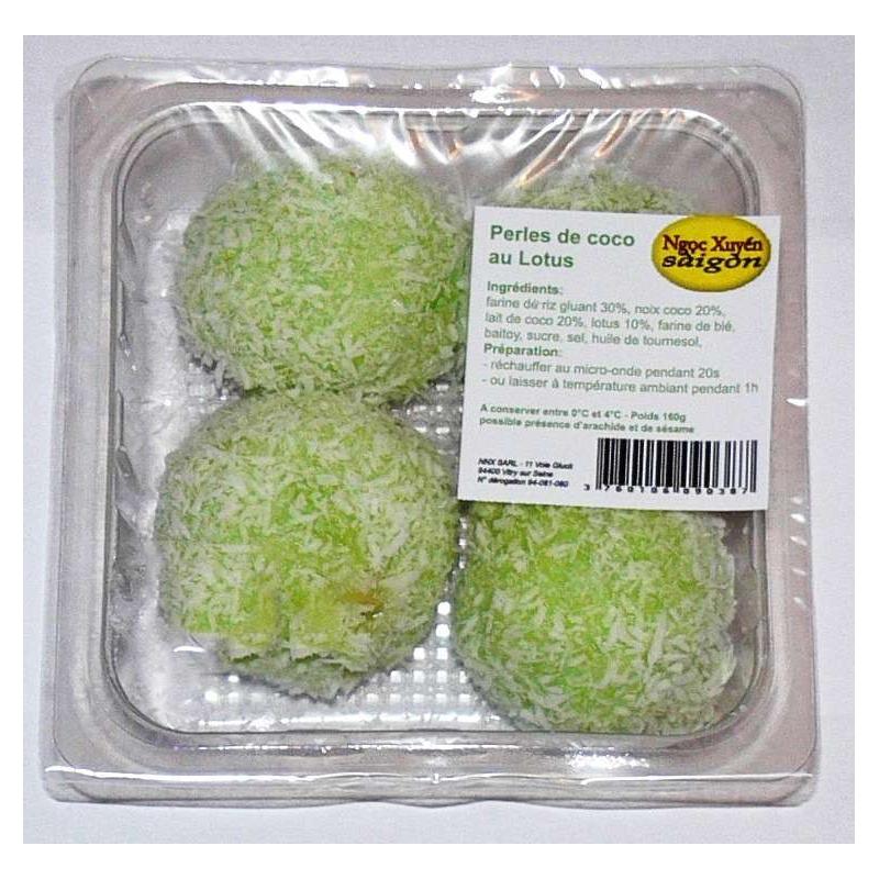 Perles de coco au lotus (x 4, 160 g)