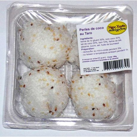 Perles de coco au taro (x 4, 160 g)