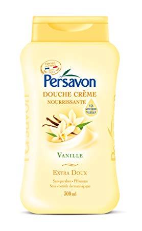 Douche Crème nourrissante Vanille, Persavon (300 ml)